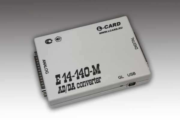 Модуль АЦП, 32 канала, USB, 14 бит, ARM AT91SAM7S256, ЦАПы 16 бит