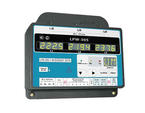 Измеритель качества электроэнергии LPW-305