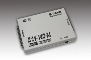недорогой внешний модуль АЦП/ЦАП на шину USB E14-140M