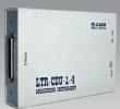 Новый одноместный модуль АЦП-ЦАП с Ethernet & USB