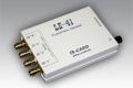 усилитель заряда, 4 канала, полоса  0,3 Гц - 22 кГц