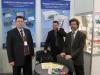 Слева направо: Александр Побегайло (технический консультант), Дмитрий Измайлов (разработчик ПО PowerGraph), Леонид Александров (начальник отдела продаж).