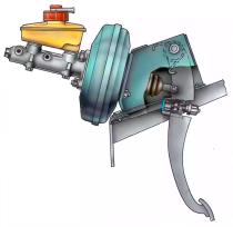 Исследование гидравлической тормозной системы автомобиля
