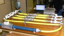 Экспериментальный стенд для исследования сложных пневматических систем