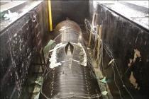 Система измерений для гидравлических испытаний труб большого диаметра