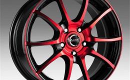 Испытания литых алюминиевых колёс