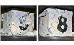 Исследование работы железобетонных плит при локальном нагружении