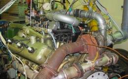 Исследование системы управления распределенной подачей газа двигателя 6ГЧН13/14