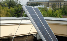 Исследование производительности солнечной энергоустановки в условиях Москвы