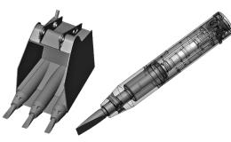 Исследование гидравлической ударной системы горных машин