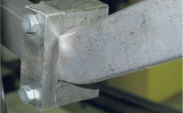 Исследования несущей способности пространственных металлических рам