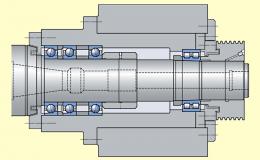 Cистема предэксплуатационной диагностики мотор-шпиндельного узла
