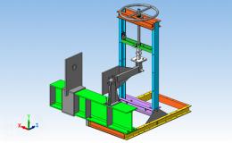 Автоматизация измерений прочностных характеристик деталей машин