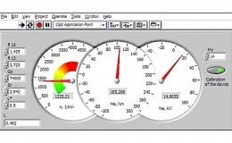 Бесконтактный оптоэлектрический крутильный динамометр для испытаний ДВС