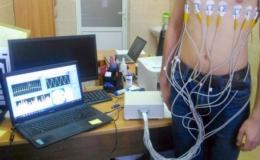Система мониторинга вентиляционной функции легких человека на основе электроимпедансной томографии