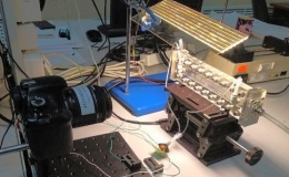 Экспериментальное изучение переноса твердых частиц потоком вязкой жидкости в прямоугольном канале