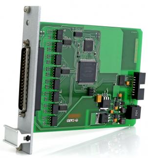 модуль ввода дискретных сигналов с поканальной гальваноизоляцией