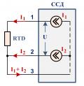 Датчик термометр сопротивления 3-проводный