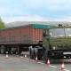 Исследование показателей движения экспериментального автопоезда-контейнеровоза