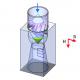 Исследование пульсаций давления в модельной отсасывающей трубе гидротурбины