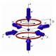 Магнитооптическая ловушка для захвата и охлаждения атомов тулия
